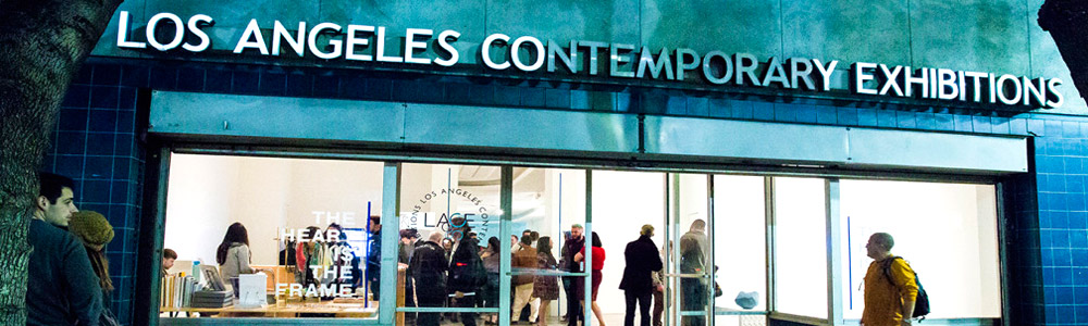 Toni Bentley at the Los Angeles Contemporary Exhibitions - LACE and ARTILLERY MAGAZINE