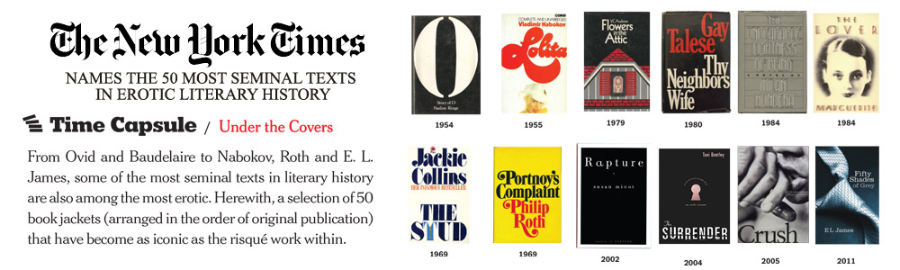 The New York Times - 50 Most Seminal Text in Erotic Literary History