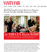 Toni Bentley in VANITY FAIR